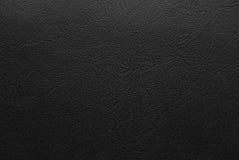 svart läder Arkivbild