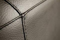 svart läder Royaltyfri Foto