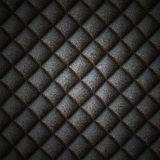 Svart läderbakgrund Fotografering för Bildbyråer