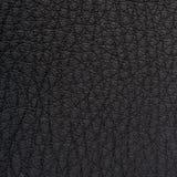 Svart läderbakgrund Royaltyfri Fotografi