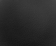 svart lädertextur Royaltyfri Bild