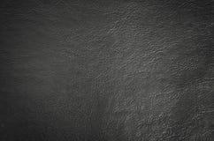 svart lädertextur Royaltyfria Bilder