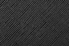 Svart lädertextur eller läderbakgrund Arkivfoto