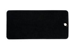 svart lådaetikett Royaltyfria Foton