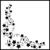 svart lövverk stock illustrationer