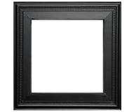 svart lantligt ramfoto Royaltyfri Bild