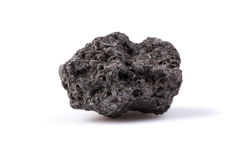 Svart lava Arkivbild