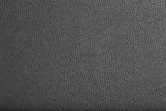 Svart lädertextur Arkivfoto