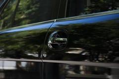 svart limousine Royaltyfri Fotografi
