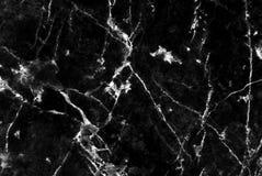Svart Marmor Monstrade Texturbakgrund Detaljerad Akta