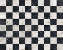 svart marmormosaik Royaltyfria Bilder