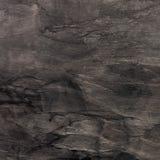 Svart marmortextur Arkivbilder
