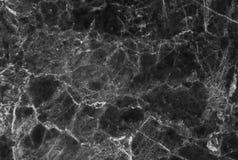 svart marmortextur Royaltyfria Bilder