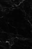 Svart marmortextur, detaljerad struktur av marmor i naturligt mönstrat för bakgrund och design royaltyfri bild