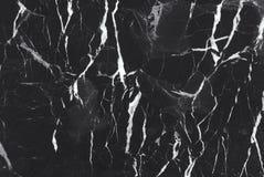 Svart marmortexturbakgrund, detaljerad äkta marmor från naturen Arkivbild