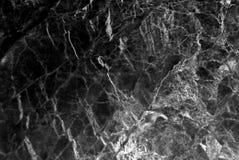 Svart marmortexturbakgrund, detaljerad äkta marmor från naturen Royaltyfria Foton