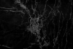 Svart marmortexturbakgrund, svart stengolvmodell med hög upplösning Arkivbild