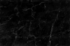 Svart marmortexturbakgrund, svart stengolvmodell med hög upplösning Royaltyfria Foton