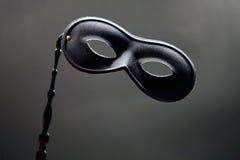 svart maskering Royaltyfria Bilder