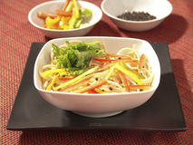 svart maträtt Royaltyfria Bilder