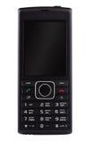 Svart mobiltelefon med knappar Royaltyfri Foto