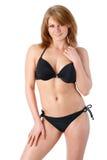 svart mode för bikini Royaltyfri Bild