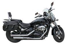 Svart Motorbike Royaltyfria Foton
