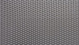 Svart nylonWeaven textur Arkivfoton