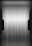 Svart och grå för bakgrundstexturvektor illustratio för mörk krom vektor illustrationer