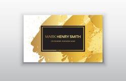 Svart och guld- designmallar för broschyrer, reklamblad, mobila teknologier och online-tjänst Fotografering för Bildbyråer