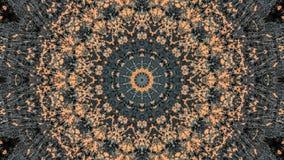 Svart och orange randig grungeabstrakt begreppdesign stock illustrationer
