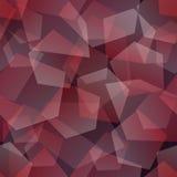 Svart och rött Arkivfoto