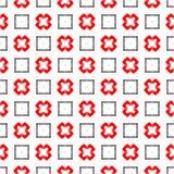 Svart och rött abstrakt begrepp buktade linjer bakgrund Arkivbilder