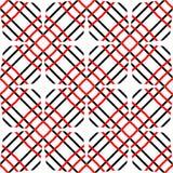 Svart och rött abstrakt begrepp buktade linjer bakgrund Fotografering för Bildbyråer