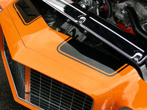 svart orange arkivbild