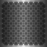 Svart oval modellvektor i metallisk bakgrund Arkivfoton