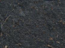 svart paper textur Royaltyfri Fotografi
