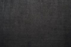 Svart pappers- textur Royaltyfri Bild