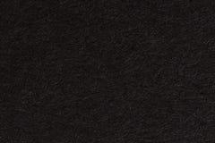 Svart pappers- texturbakgrund Svart tom sida royaltyfri foto