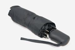svart paraply Royaltyfria Foton
