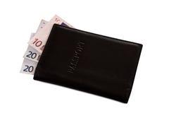 svart pengarpass Royaltyfria Foton