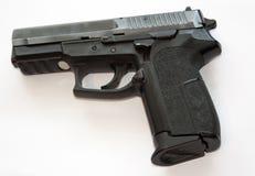 svart pistol Royaltyfri Foto