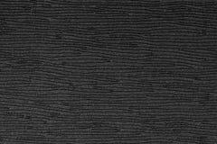 Svart plast- texturbakgrund, slut upp Royaltyfria Bilder