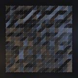 Svart polygonbakgrund Royaltyfri Foto
