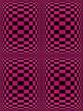 svart purple Arkivbild