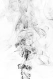 svart rök Royaltyfri Fotografi