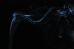 svart rök för bakgrund Arkivbilder