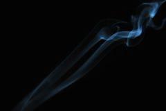 svart rök för bakgrund Royaltyfri Bild