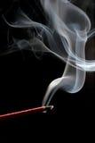svart rökelse över Royaltyfria Foton