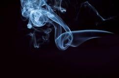 svart rökelse Royaltyfri Bild